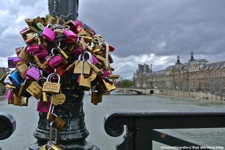 Cadenas d'am.Pont des Arts