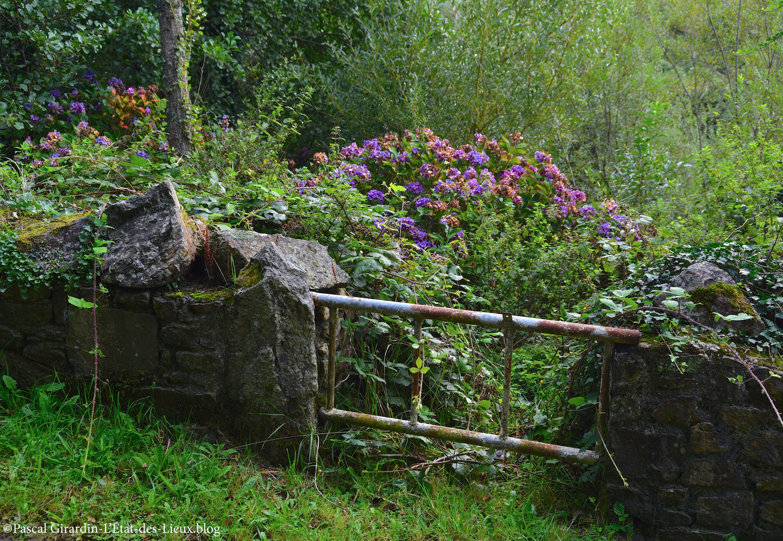Herqueville-Manche-Anciens jardins